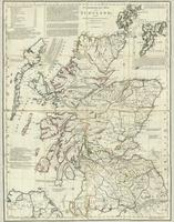 A commercial map of Scotland; with the roads, stages, and distances, brought down to 1782.