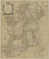 Bowles's new and accurate map of Ireland divided into it's several provinces, counties and baronies