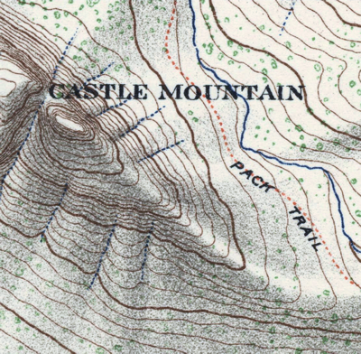 Topographical Survey of the Rocky Mountains