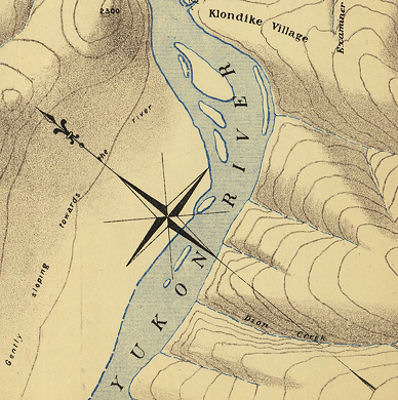 Yukon Map 1898 on 10 sheets