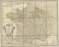 Carte de France dressée pour l'usage du roi, par Guil. Delisle et Phil.