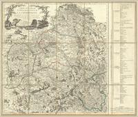 Carte nouvelle du government général de la Champagne, dans laquelle, en conservant les anciénnes divisions des huit pays