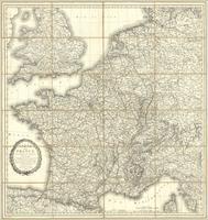 Carte de la France divisée en départemens & arrondissemens