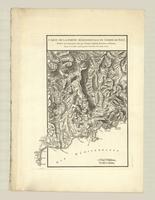 Carte de la partie méridionale du comté de Nice, relative aux mouvemens faits par l'Armée Combinée de France et d'Espagne