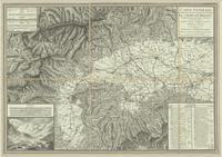 Carté générale des marches, positions, combats et batailles de l'armée de réserve, depuis le passage du Grand St. Bernard...