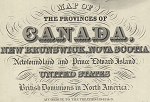 Map of the provinces of Canada (1 map on 6 sheets) / Joseph Bouchette