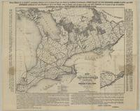 Map of part of the Province of Ontario Canada