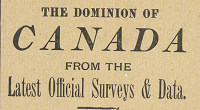 Dominion of Canada... ; Map of the United States / published by Geo. F. Cram (2 maps on 1 sheet)