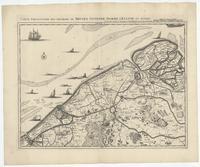 [03]. Carte particuliere des environs de Bruges, Ostende, Damme, l'Ecluse et autres