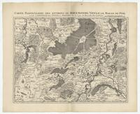 [06]. Carte particuliere des environs de Roermonde, Venlo, le Marais De Peel