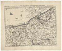 [08]. Carte particuliere des environs de Dunkerque, Bergues, Furnes, Gravelines, Calais, et autres