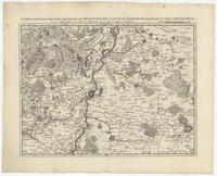 [12]. Carte particuliere des environs de Maestricht, partie de Liege Faucquemont, et pays d'Outre-Meuse