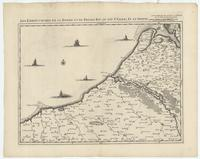 [19]. Les embouchures de la Somme et de Bresle Riv. ou est St. Valeri, Eu et Dieppe