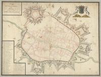 Plan des ville et citadelle de Tournay