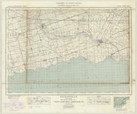 Dunnville, ON. 1:63,360. Map sheet 030L13, [ed. 4], 1938