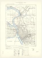 Fort Erie, ON. 1:63,360. Map sheet 030L15, [ed. 3], 1924