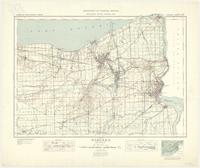 Niagara, ON. 1:63,360. Map sheet 030M03, [ed. 10], 1939