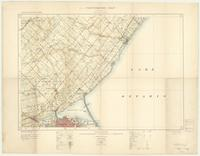 Hamilton, ON. 1:63,360. Map sheet 030M05, [ed. 3], 1919
