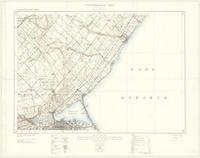 Hamilton, ON. 1:63,360. Map sheet 030M05, [ed. 5], 1931