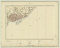 Toronto, ON. 1:63,360. Map sheet 030M11, [ed. 3], 1918