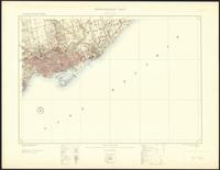 Toronto, ON. 1:63,360. Map sheet 030M11, [ed. 4], 1921