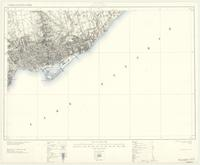 Toronto, ON. 1:63,360. Map sheet 030M11, [ed. 5], 1927