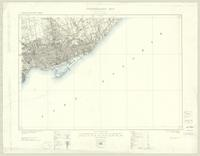 Toronto, ON. 1:63,360. Map sheet 030M11, [ed. 6], 1931