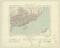 Toronto, ON. 1:63,360. Map sheet 030M11, [ed. 8], 1949