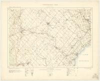Brampton, ON. 1:63,360. Map sheet 030M12, [ed. 1], 1909