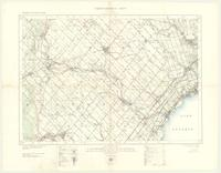 Brampton, ON. 1:63,360. Map sheet 030M12, [ed. 6], 1931