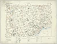 Markham, ON. 1:63,360. Map sheet 030M14, [ed. 5], 1933