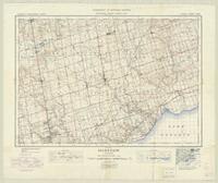 Markham, ON. 1:63,360. Map sheet 030M14, [ed. 6], 1936