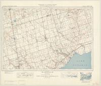 Markham, ON. 1:63,360. Map sheet 030M14, [ed. 7], 1943