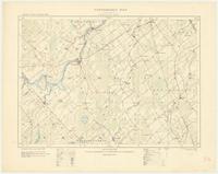 Merrickville, ON. 1:63,360. Map sheet 031B13, [ed. 1], 1908