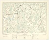 Merrickville, ON. 1:63,360. Map sheet 031B13, [ed. 3], 1926