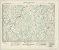 Merrickville, ON. 1:63,360. Map sheet 031B13, [ed. 4], 1940