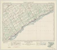 Morrisburg, ON. 1:63,360. Map sheet 031B14, [ed. 4], 1940