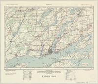 Kingston, ON. 1:63,360. Map sheet 031C01-C02-C07-C08, [ed. 1], 1940