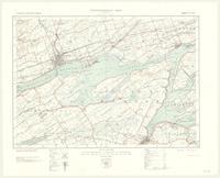 Belleville, ON. 1:63,360. Map sheet 031C03, [ed. 1], 1933