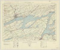 Belleville, ON. 1:63,360. Map sheet 031C03, [ed. 2], 1938