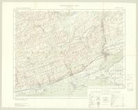 Trenton, ON. 1:63,360. Map sheet 031C04, [ed. 2], 1933