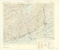 Trenton, ON. 1:63,360. Map sheet 031C04, [ed. 3], 1935