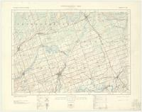 Campbellford, ON. 1:63,360. Map sheet 031C05, [ed. 1], 1933