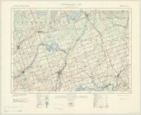 Campbellford, ON. 1:63,360. Map sheet 031C05, [ed. 2], 1941