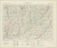 Tweed, ON. 1:63,360. Map sheet 031C06, [ed. 1], 1933