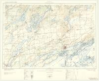 Gananoque, ON. 1:63,360. Map sheet 031C08, [ed. 2], 1922