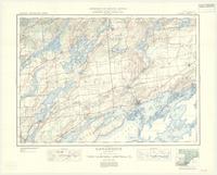 Gananoque, ON. 1:63,360. Map sheet 031C08, [ed. 5], 1938