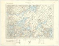 Westport, ON. 1:63,360. Map sheet 031C09, [ed. 1], 1927