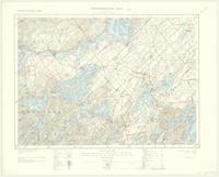 Westport, ON. 1:63,360. Map sheet 031C09, [ed. 2], 1929