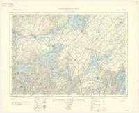 Westport, ON. 1:63,360. Map sheet 031C09, [ed. 3], 1935